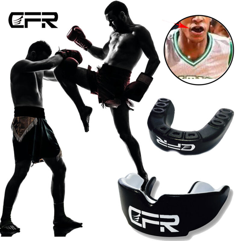 Boxing Gum Shield MMA Training Mouthguards Rughby Teeth Grinding Gel Protector