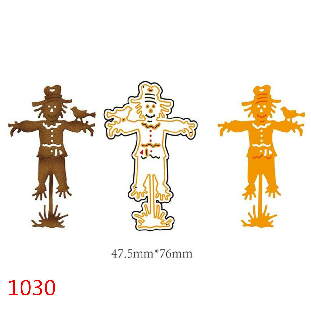 Halloween Witch Pumpkin For DIY Greeting Card Metal Embossing Cutting Dies HOT O