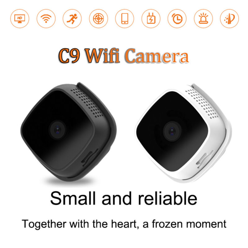 C9 Camera Webcam Mini Action Camera 720P IP HD Night Vision Small Remote MAX---