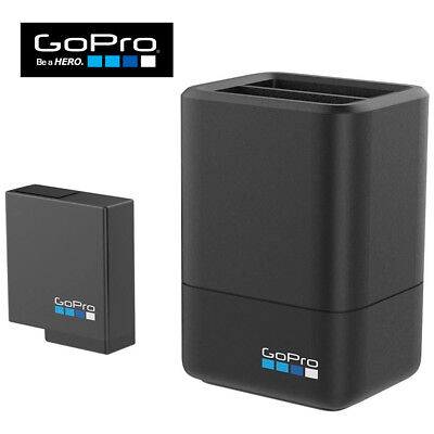 GoPro Dual Battery Charger + Battery HERO 5 & HERO 6 Black Supercharger