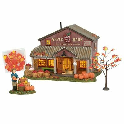 Department 56 Halloween Village 2019 (Department 56 Halloween Village 2019 APPLE BARN LIMITED EDITION BOX SET)