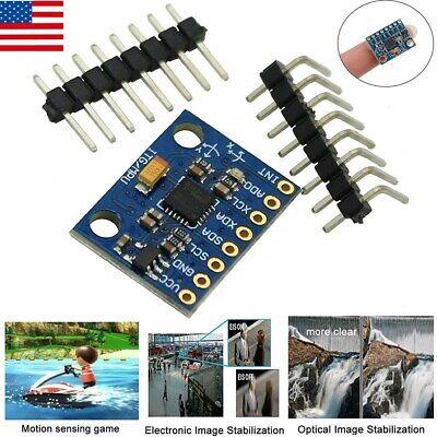 Mpu-6050 Mpu6050 6dof 3 Axis Gyroscope Accelerometer Module For Arduino Diy Us
