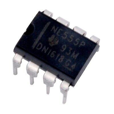 10pcs Texas Instruments Ne555p Ne555 555 - Single Precision Timer - New Ic
