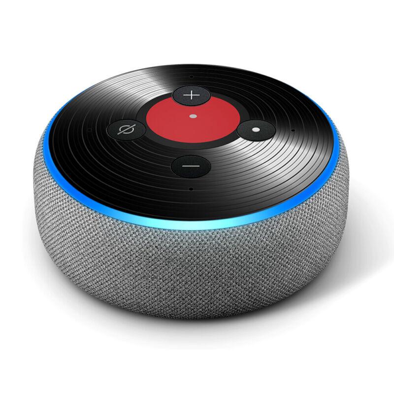 Vinyl Decal Skin for Amazon Echo Dot 3rd Gen - Vinyl Record