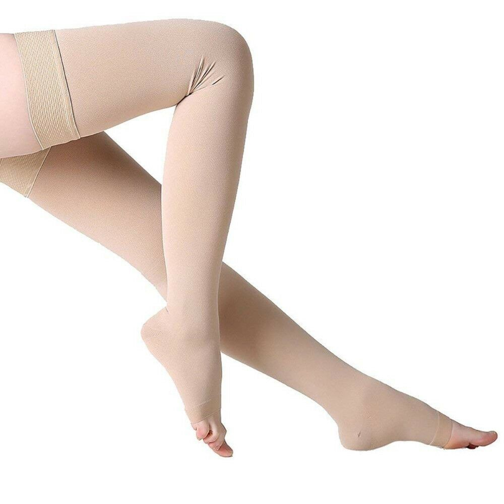 Compression Sock 30-40mmhg Thigh High Support Stockings Medi