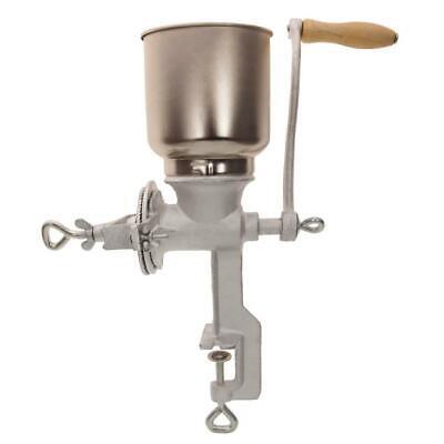 Tall Cast Iron Mill Grinder Hand Crank Manual Grains Oats Co