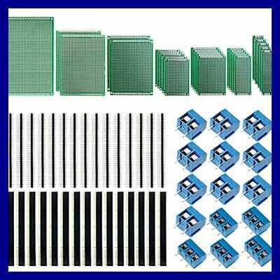 70pcs Universal Pcb Board Kit Including 7 Sizes Double Sided Prototype Boards 2.
