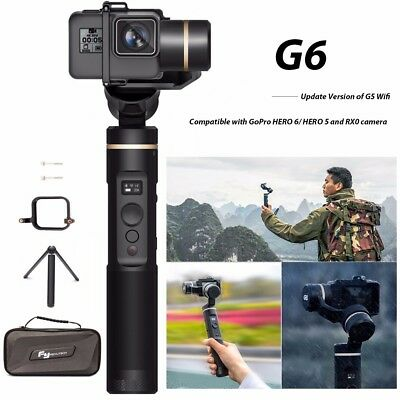 Feiyu G6 3-Axis Splash Proof Handheld Gimbal for GoPro Hero 6/5/4/3/Session RX0