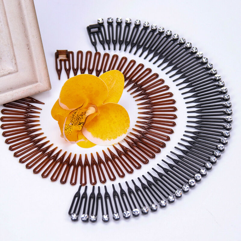 Hair Stretch Wig Accessories Diamond Hair Clip Headband Comb