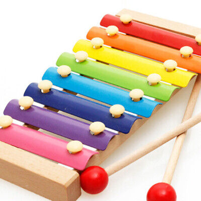 1*Baby Musical Funny Toys Xylophone Eight-Tone Piano Early Educational New Hot