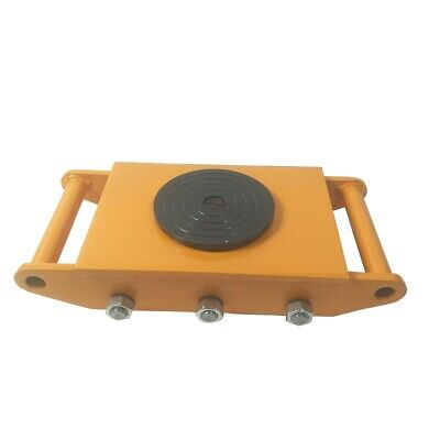 8t 6 Rollers Industrial Machinery Mover Dolly Skate Trolley 360rotation Cap