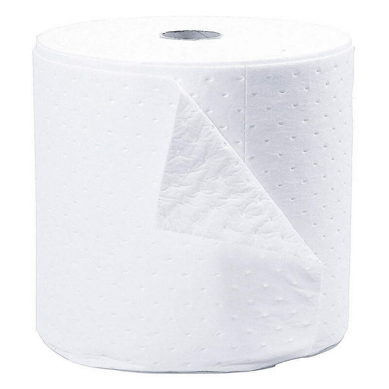 Absorbent Roll,Oil-Based Liquids,White SXT15P