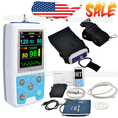 Vital Signs Monitor Patient Monitor Spo2nibppulse Rate24hrs Ambulatory Nibp