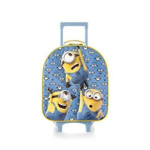 Heys Minions Designed Softside Luggage for Kids 19 Inch