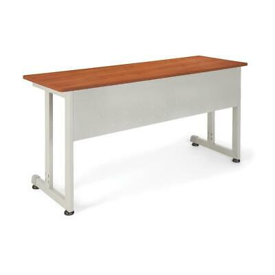 Ofm Model 55141 20 X 55 Modular Utility And Training Table Cherry With...