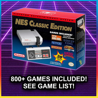 NES CLASSIC MODDED with 805+ Games  Nintendo Classic Copy Console NEW