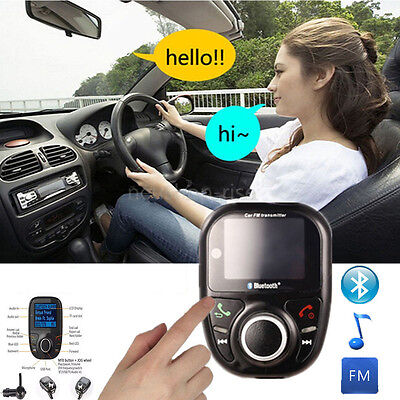 Bluetooth FM Transmitter Auto MP3 Player USB Stick KFZ SD AUX Freisprechanlage