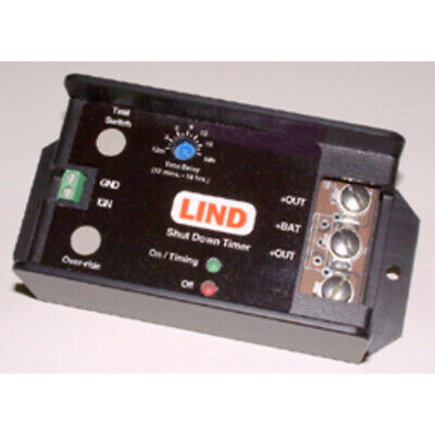 LIND ELECTRONICS SDT1230-022 PROTECTIVE BATTERY TIMER DESIGNED TO ELIMINATE
