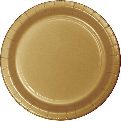 24 Glittering Gold Wedding Birthday Party Tableware 9