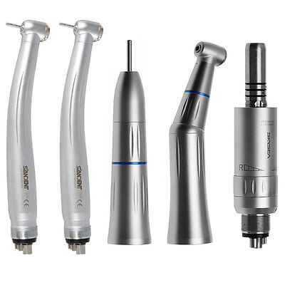 Dental Contra Angle Straight Air Motor Fit Kavo High Speed Handpiece 4hole