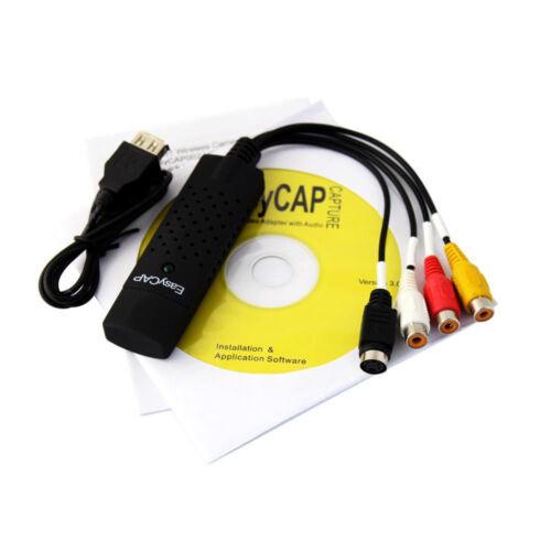Easycap USB 2.0 Video Audio VHS to DVD Converter Capture Car
