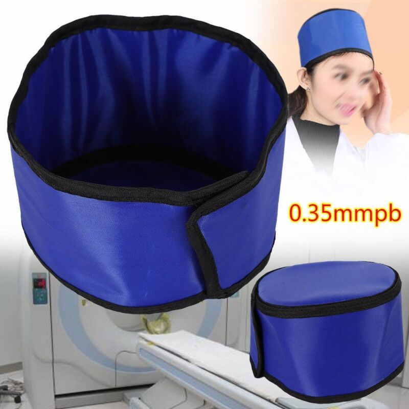 0.35mmpb X-ray Inspection Radiation Protection Hat Lead Rubber Head Protective