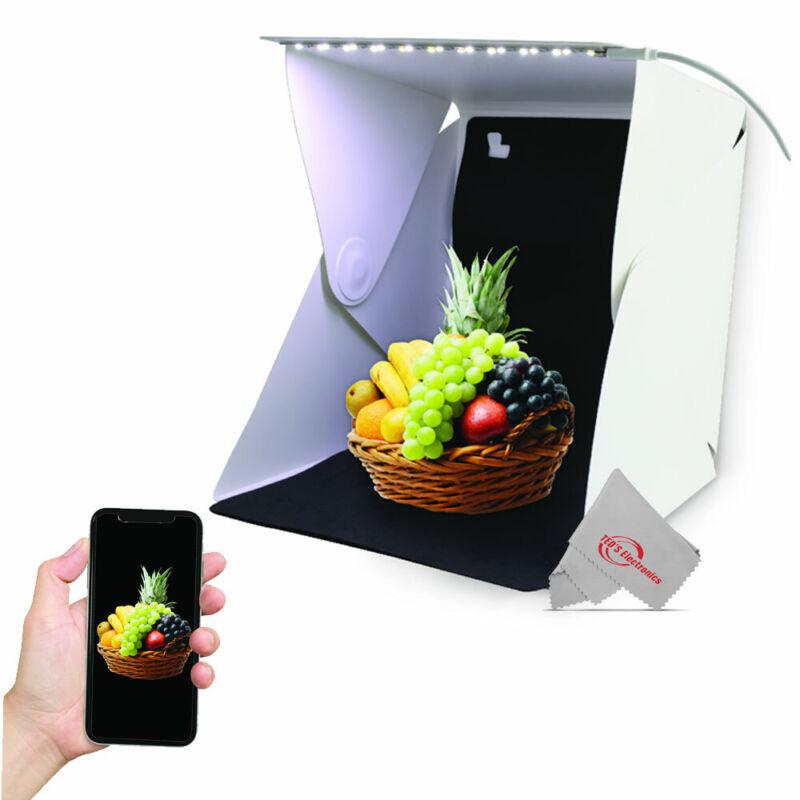 Portable Photo Studio LED Light Box Tent Mini Folding Photography Studio Softbox