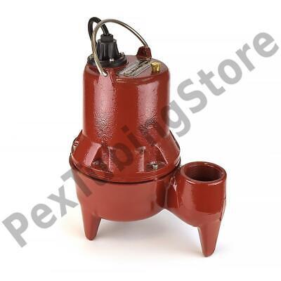 Manual Sewage Pump 10 Cord 410 Hp 115v