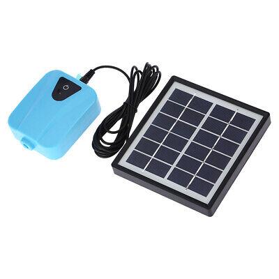 solar powered panel oxygen oxygenator air pump