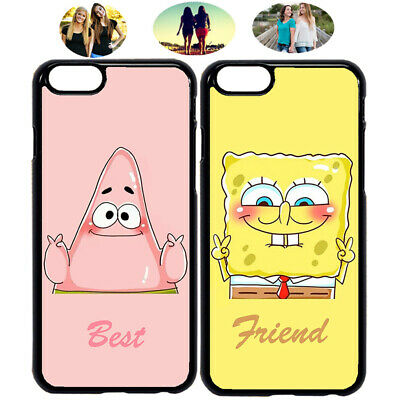 Spongebob Patrick Cute Cartoon Best Friend Phone Case Cover For iPhone &