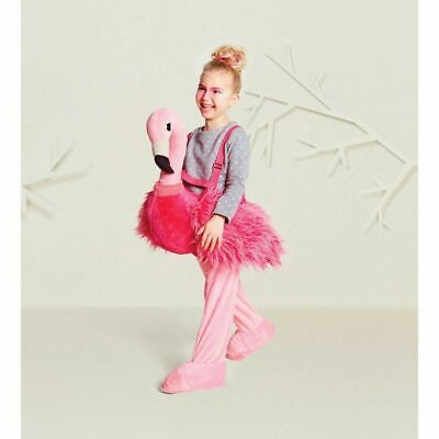 Hyde & Eek Flamingo Toddler Plush Costume Dress Up Ride On Halloween One Size