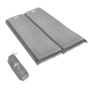 AUS FREE DEL-Double 10cm Self Inflating Camping Sleeping Mat Grey Sydney City Inner Sydney Preview