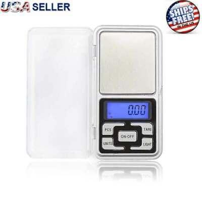 Digital 500g x 0.1g Scale Jewelry Portable Pocket Balance Gram OZ. LCD Herb Gold (Digital Balance)