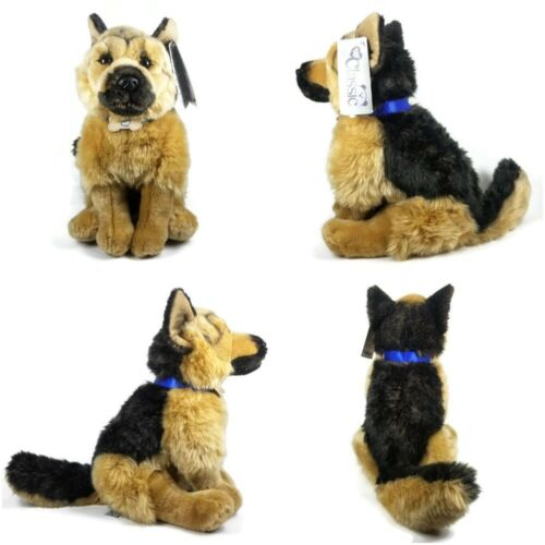 """Toys R Us Animal Alley Classic Collection German Shepherd Plush 14"""" *Read Descr*"""