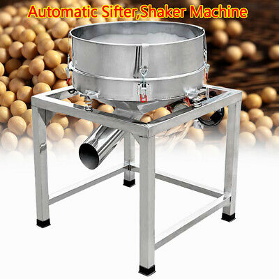 300w Electric Vibrating Screen Stainless Steel Sifter Shaking Oscillating Screen