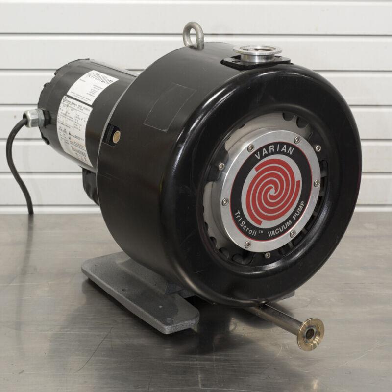 Varian PTS600 Dry Scroll Vacuum Pump REBUILT