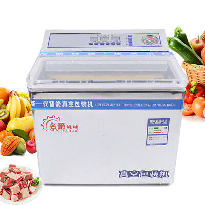 200w Vacuum Sealer Food Packing Sealing Machine Wet Dry Use Device Commercial