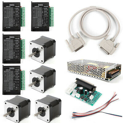 4-axis Control Board Cnc Controller Kit Nema17 Stepper Motor For Lathes Machine