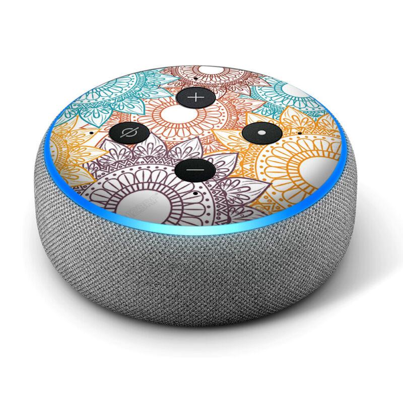 Vinyl Decal Skin for Amazon Echo Dot 3rd Gen - Bohemian 1