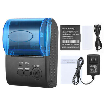 Pos-5805dd Mini 58mm Wireless Usb Thermal Printer Receipt Bill Ticket Pos -us