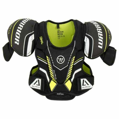 $79 New Warrior Alpha DX DX4 Senior Medium Shoulder pads chest ice hockey