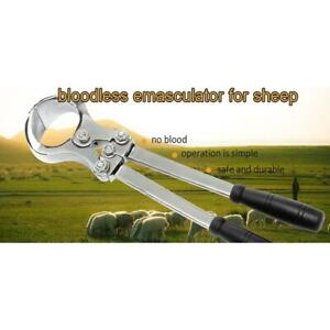 Veterinary Bloodless Burdizzo Castrator Pinch Cord Castrate for Sheep Goat Emasculator 032156