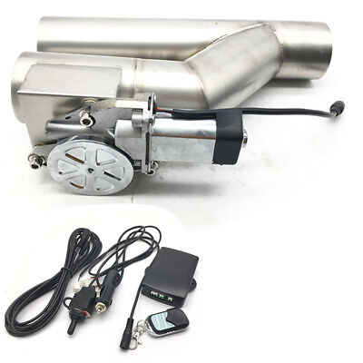 """2.5"""" ELECTRIC EXHAUST CATBACK/DOWNPIPE E-CUTOUT/ CUTOUT VALVE SYSTEM REMOTE KIT"""