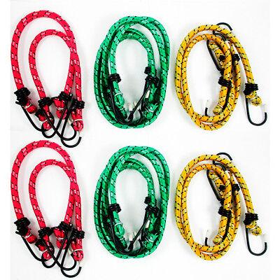 - 12 Bungee Cord Strap Heavy Duty Tarp Bungie Elastic Tie Down Set 12