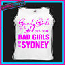 BAD GIRLS GO TO SYDNEY  HEN PARTY HOLIDAY VEST TOP