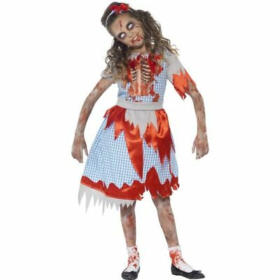 Smi - Halloween Kinder Kostüm Horror Zombie Mädchen
