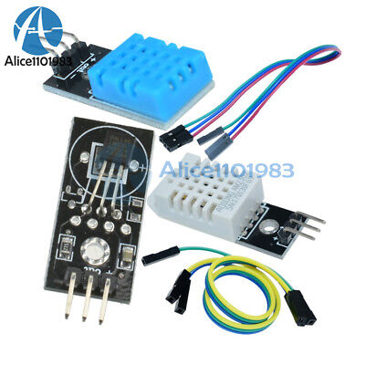 Dht22am2302 Dht11 Ds18b20 Digital Temperature And Humidity Sensor Module