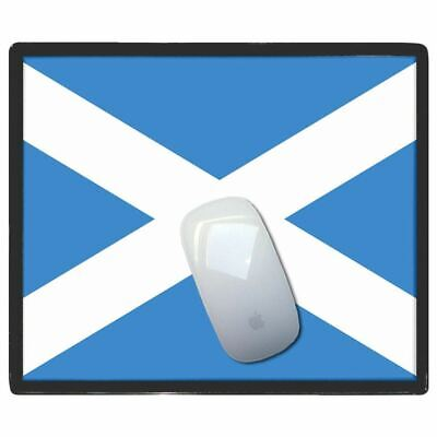 Scotland Flag - Thin Pictoral Plastic Mouse Pad Mat Badgebeast