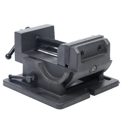 4industrial Inclined Benchtop Drill Press Tilting Angle Vise 0-90 Degree Clamp