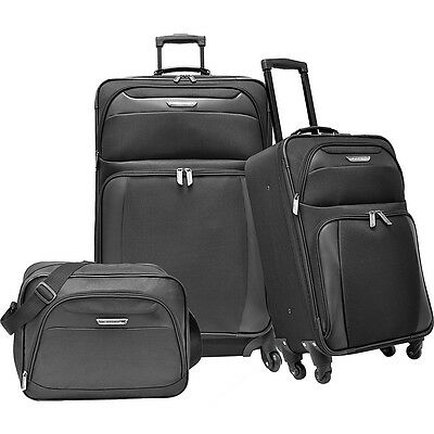 Traveler's Choice Richmond 3-Piece Spinner Luggage Set